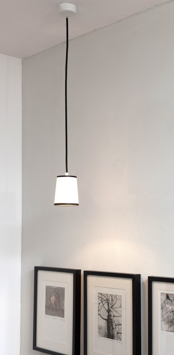 Suspension lightbook blanc noir h12cm designheure normal