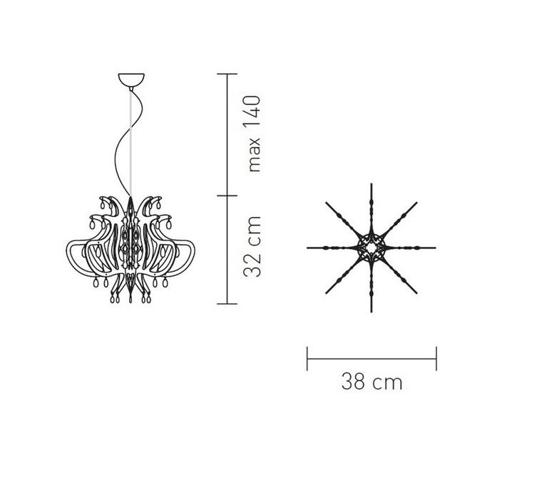 Lillibet mini nigel coates slamp lil14sos0001nt000 luminaire lighting design signed 18026 product