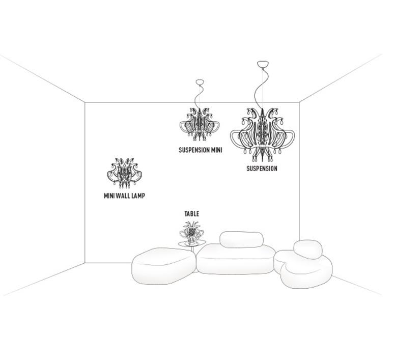 Lillibet mini nigel coates slamp lil14sos0001nt000 luminaire lighting design signed 18027 product