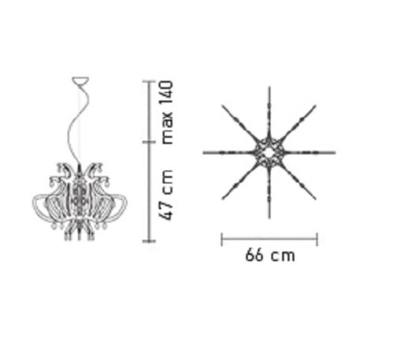Lillibet nigel coates slamp lil14sos0000nt luminaire lighting design signed 17375 product