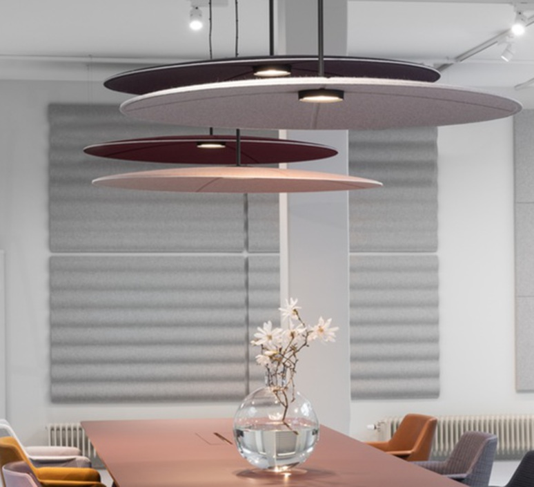 Lily 120 runa klock et hallgeir homstvedt suspension pendant light  abstracta lily120 synergy lds74  design signed nedgis 69711 product