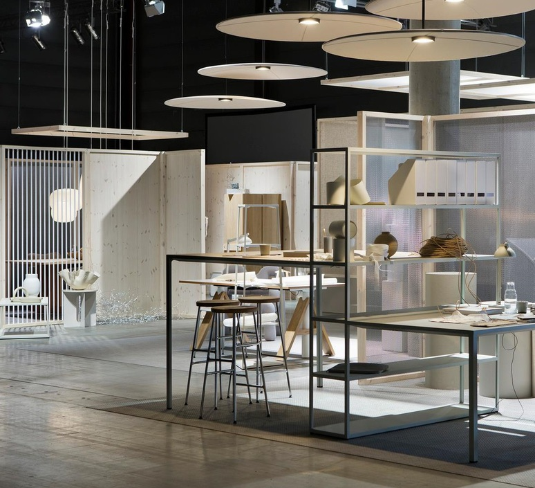 Lily 90 runa klock et hallgeir homstvedt suspension pendant light  abstracta lily90 synergy lds77  design signed nedgis 83237 product