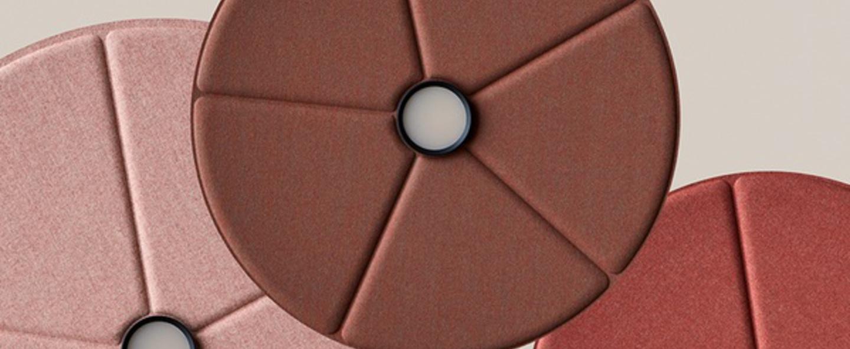 Suspension lily 90 marron led 2700k 900 1100lm o90cm h6 1cm abstracta normal