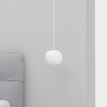 Suspension lita blanc o14cm h30cm luceplan normal