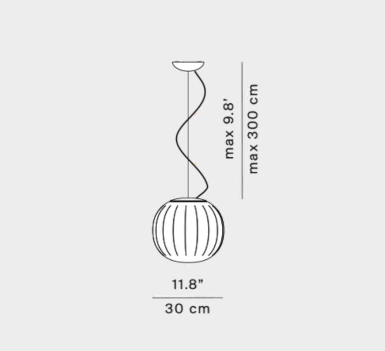 Lita francisco gomez paz suspension pendant light  luceplan 1d920s300002 1d920 300002  design signed nedgis 78563 product