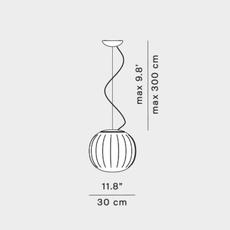 Lita francisco gomez paz suspension pendant light  luceplan 1d920s300002 1d920 300002  design signed nedgis 78563 thumb