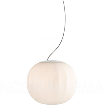 Suspension lita blanc o30cm h30cm luceplan normal