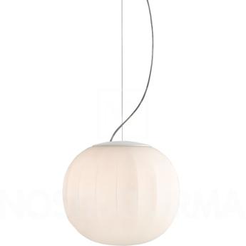 Suspension lita blanc o30cm h30cm luceplan normal