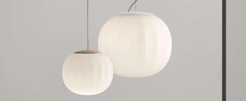 Suspension lita blanc o42cm h30cm luceplan normal