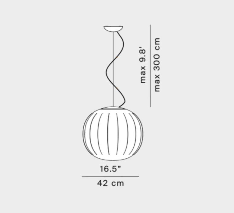 Lita francisco gomez paz suspension pendant light  luceplan 1d920s420002 1d920 400002  design signed nedgis 78568 product