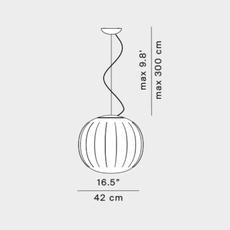 Lita francisco gomez paz suspension pendant light  luceplan 1d920s420002 1d920 400002  design signed nedgis 78568 thumb