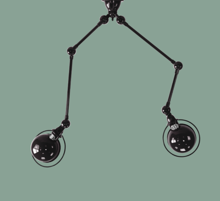 Loft sky jean louis domecq suspension pendant light  jielde sky4224 ral9011  design signed 36837 product
