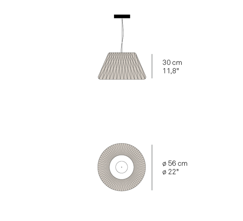 Lola sm ray power suspension pendant light  lzf  lola sm led dim0 10v 29  design signed nedgis 70889 product