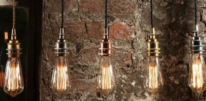Suspension lome laiton satine o5cm h8cm mullan lighting normal