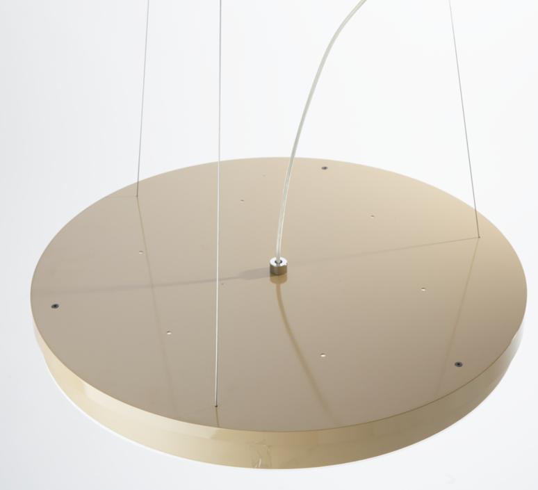 Loola studio brogliatotraverso suspension pendant light  zava loola pendantlamp white ral9010 burnishedbrassoutside  design signed 36478 product