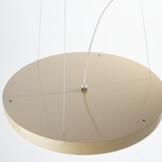 Loola studio brogliatotraverso suspension pendant light  zava loola pendantlamp white ral9010 burnishedbrassoutside  design signed 36478 thumb