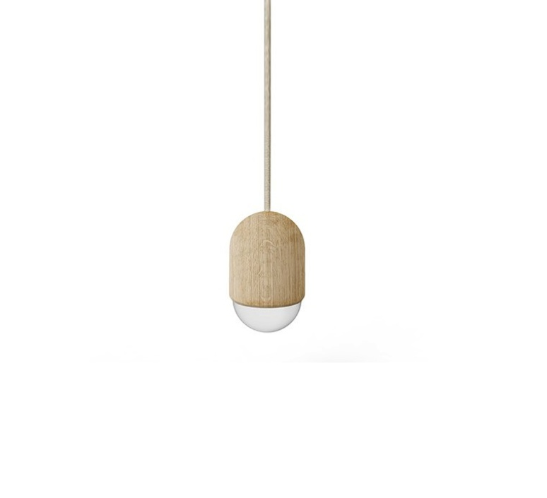 Luce medium mickael koska suspension pendant light  harto luce medium chene  design signed 34350 product