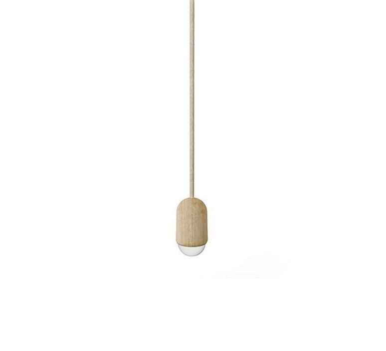 Luce small mickael koska suspension pendant light  harto luce small chene  design signed 34345 product