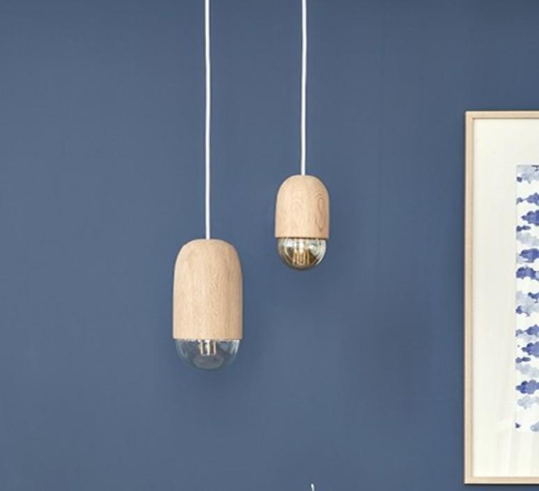 Luce small mickael koska suspension pendant light  harto luce small chene  design signed 71460 product
