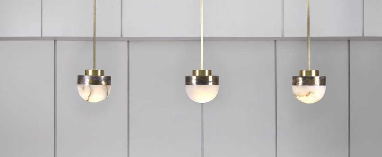 Suspension lucid 200 laiton l20cm h20cm cto lighting normal