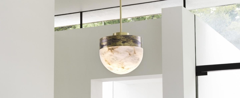 Suspension lucid 200 laiton l30cm h28cm cto lighting normal