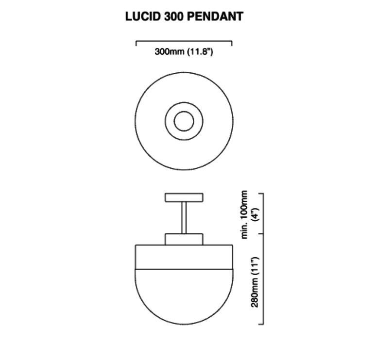 Lucid 200 michael verheyden suspension pendant light  cto lighting cto 01 112 0001  design signed 48318 product
