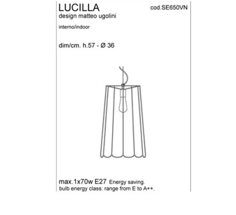 Lucilla matteo ugolini karman se650vn luminaire lighting design signed 19503 product