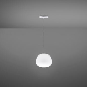 Suspension lumi blanc o20cm h17cm fabbian normal