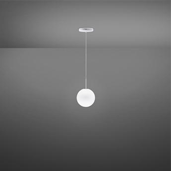 Suspension lumi sfera blanc ip40 o14cm h14cm fabbian normal