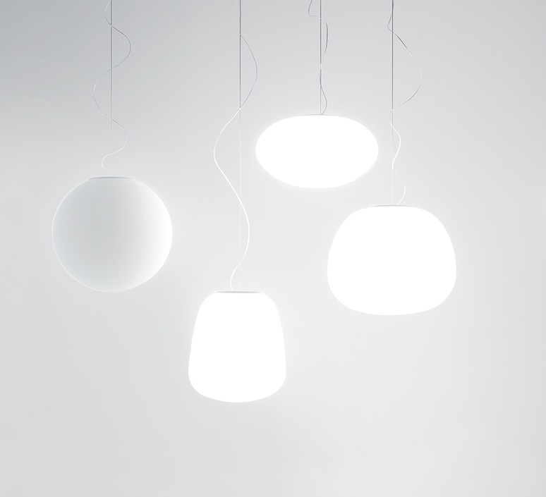 Lumi poga alberto saggia valero sommela suspension pendant light  fabbian lumi poga f07 a43 01  design signed nedgis 74240 product
