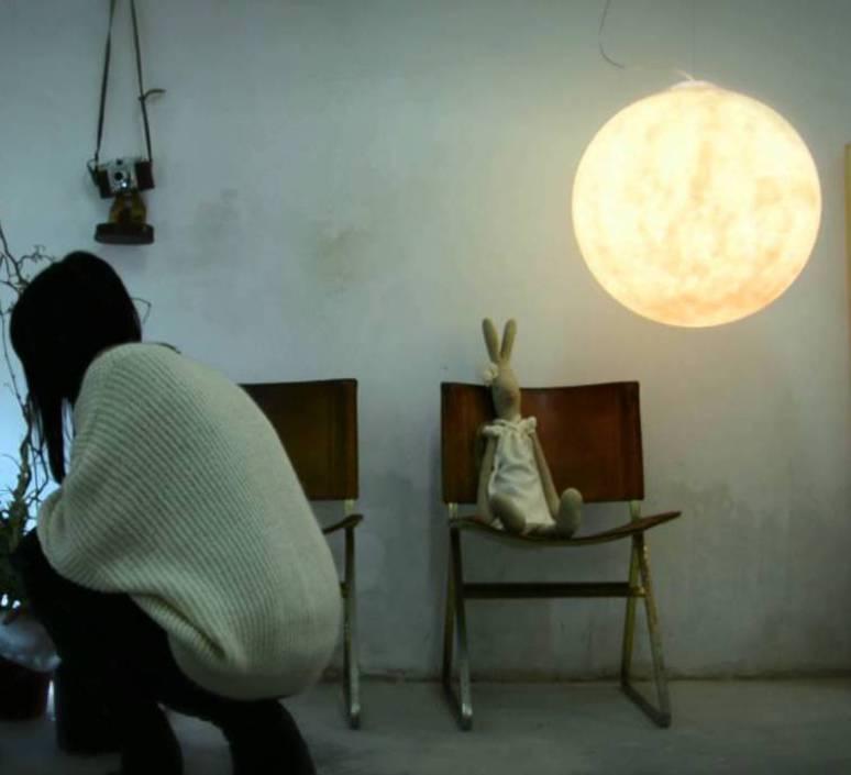 Luna 1  suspension pendant light  in es artdesign in es050010  design signed 38639 product