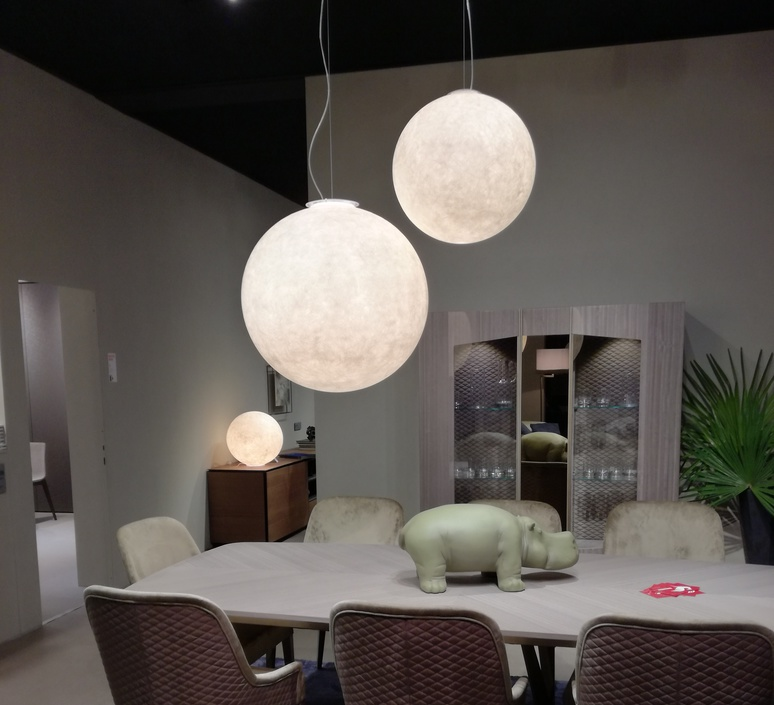 Luna 1  suspension pendant light  in es artdesign in es050010  design signed 38640 product