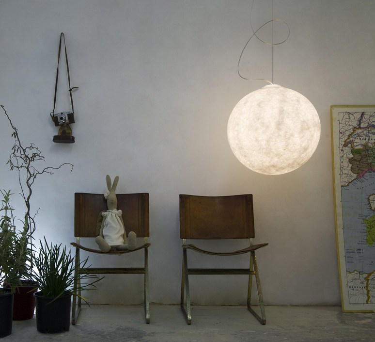 Luna 1  suspension pendant light  in es artdesign in es050010  design signed 38641 product