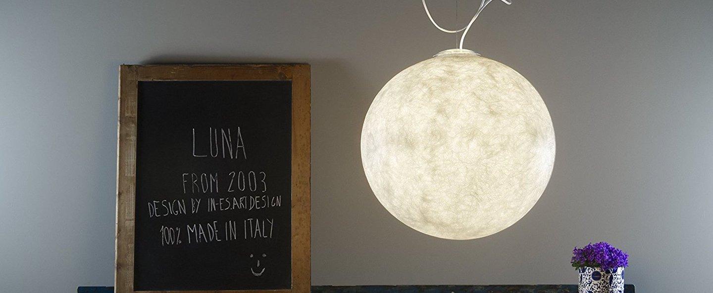 Suspension luna 2 blanc o50cm cm in es artdesign normal