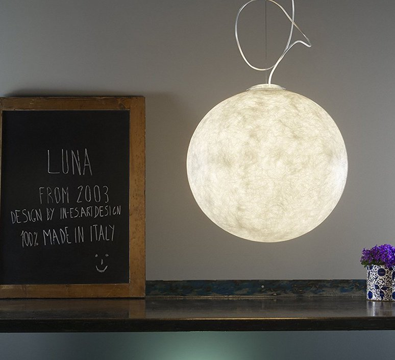 Luna 2  suspension pendant light  in es artdesign in es050020   design signed 38630 product