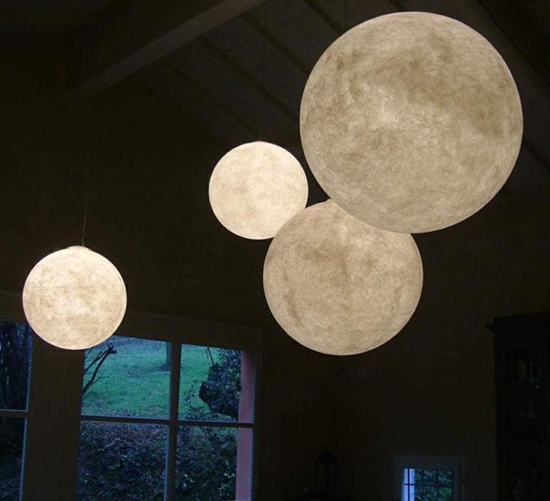 Luna 2  suspension pendant light  in es artdesign in es050020   design signed 38631 product