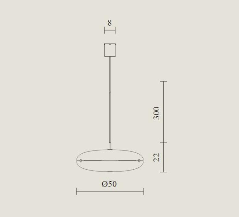 Luna gio ponti suspension pendant light  tato italia tlu100 0565  design signed nedgis 62978 product