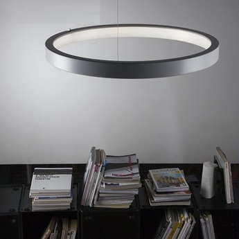 Suspension lunaop blanc o80cm martinelli luce normal