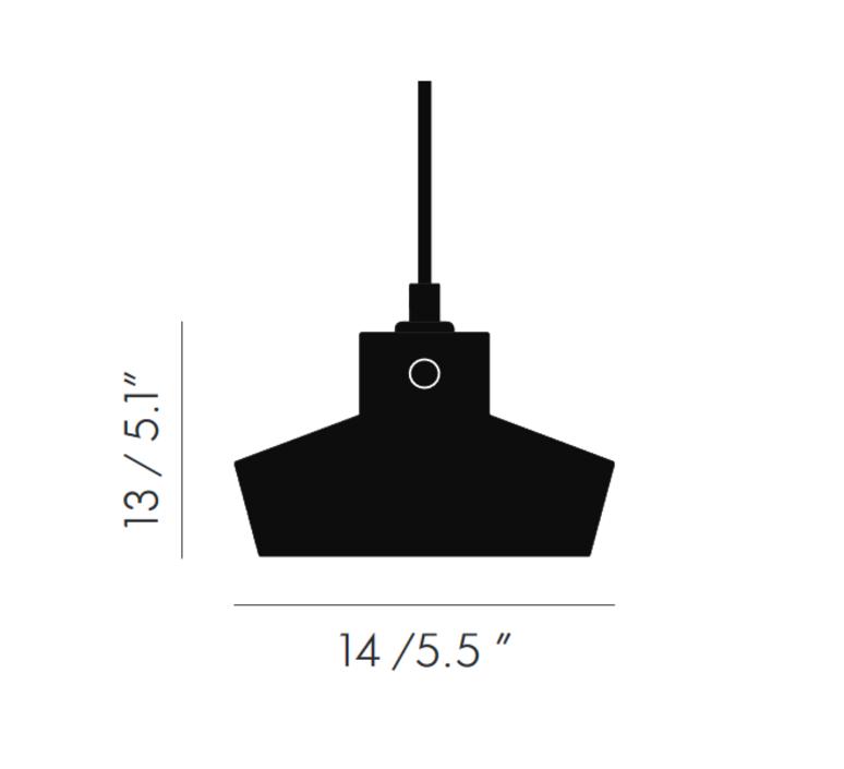 Lustre light flat tom dixon suspension pendant light  tom dixon lus04  design signed 48224 product