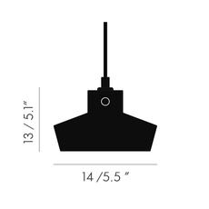 Lustre light flat tom dixon suspension pendant light  tom dixon lus04  design signed 48224 thumb