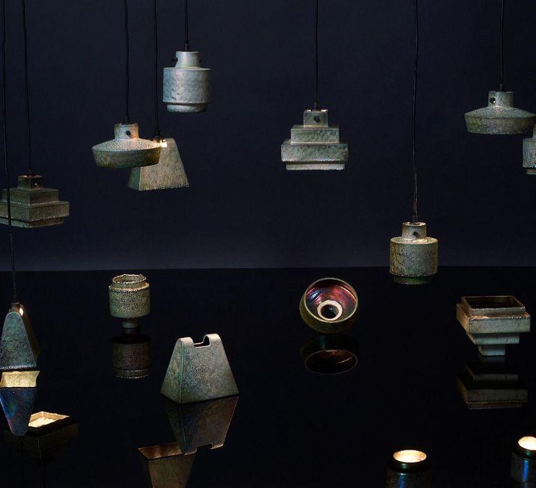 Lustre light flat tom dixon suspension pendant light  tom dixon lus04  design signed 48225 product