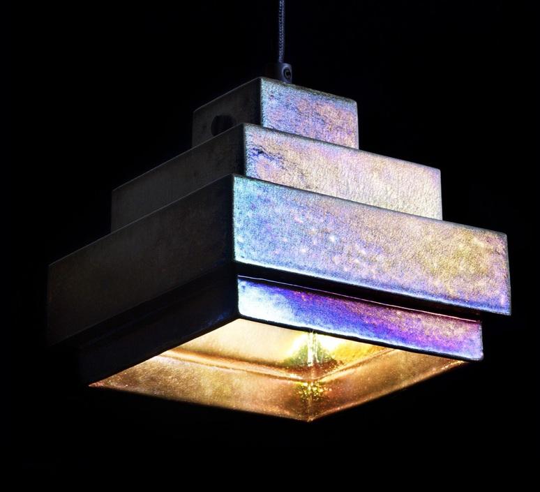 Lustre light square tom dixon suspension pendant light  tom dixon lus03  design signed 48230 product