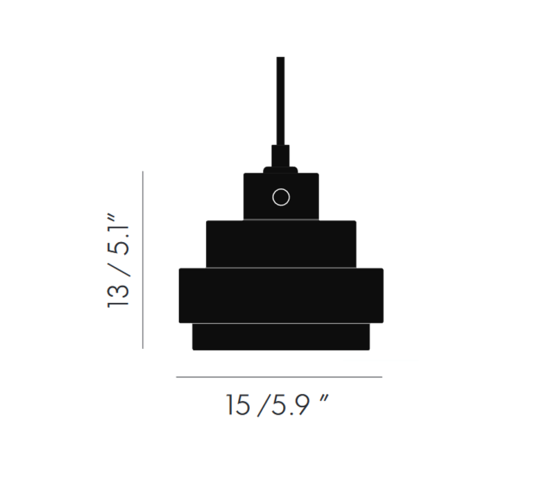 Lustre light square tom dixon suspension pendant light  tom dixon lus03  design signed 48237 product