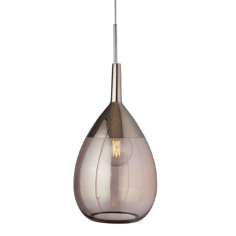 Suspension lute xl vieux rose platinium o31cm h70cm ebb and flow normal