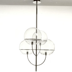 Lyndon 450 vico magistretti suspension pendant light  oluce lyndon450  design signed 40569 thumb