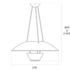 5980 alain richard suspension pendant light  disderot 5980 n  design signed nedgis 84133 thumb