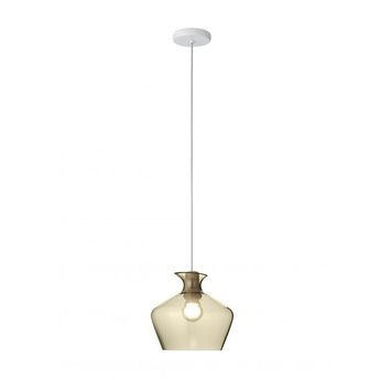 Suspension malvasia ambre led o27cm h25cm fabbian normal