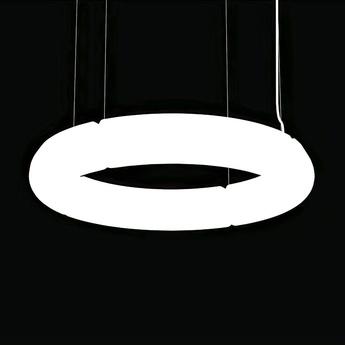 Suspension mamba 70 blanc led 3000k 6000lm o70cm martinelli luce normal