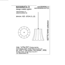 Mammolo matteo ugolini karman se685n5 luminaire lighting design signed 19664 thumb