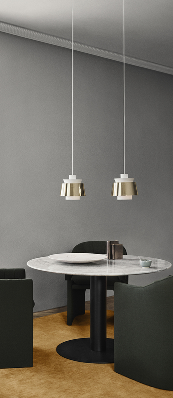 Suspension manhattan sc52 laiton blanc o22cm h23cm andtradition normal